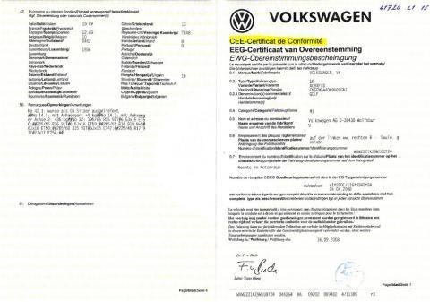 Le Certificat de Conformité pour voiture importée