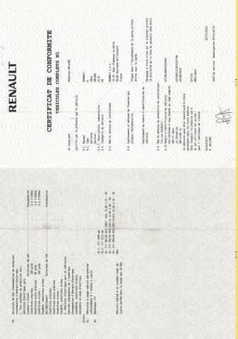 Certificat Conformité - certificat de conformité